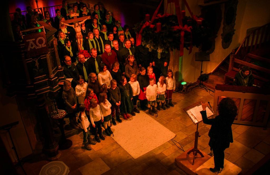 ChorArt zwanzigelf Adventskonzert2013