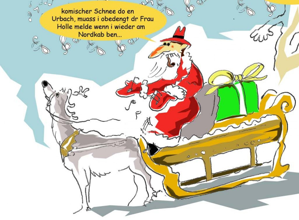 Ein weihnachtsgrub